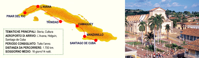 Gran Tour di Cuba - patrimonio Unesco di Cuba1
