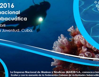 Evento Internacional de Fotografía Subacuática FOTOSUB 2016.